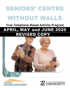 Revised Program for April, May and June 2020